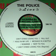 The Police Live CD Rare Sting Can't Stand Losing You Fall Out Hole In My Life