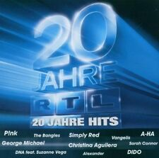 RTL-20 Jahre (2003) Sarah Connor, DSDS, Alexander, Dido, Yvonne Catterf.. [2 CD]