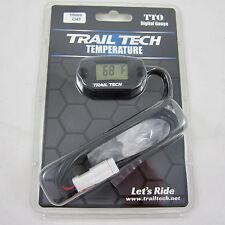 Trail Tech TTO Temperature Meter Digital Gauge 10mm Spark Plug Sensor 742-ET1