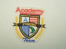Vintage Academy Fishing Team Logo Emblem Patch From a Hat