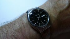 VINTAGE 1979 SEIKO KING QUARTZ DAY/DATE,BROWN DIAL,GREAT WORKING ORDER&CONDITION