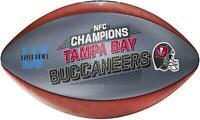 Tampa Bay Buccaneers 2020 NFC Champions Fanatics Exclusive Wilson Pro Football