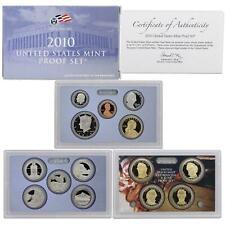 2010 S Proof Set Original Box & COA 14 Coins CN-Clad US Mint