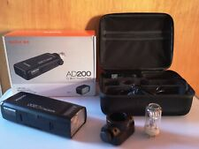 Godox AD200 200Ws Portable Photo Studio Flash, Battery Power HSS/TTL flash