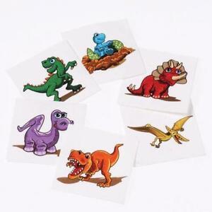 Dinosaur Tattoos - Set of 6