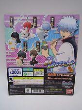 Gintama Favourite Mascot Keychain Gashapon Toy Machine Paper Card Bandai Japan