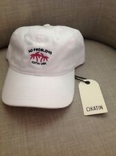 New NWT Katin USA Surf Company Dad Cap Hat white No Problemo unisex adjustable