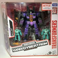 TRANSFORMERS WAR FOR CYBERTRON TRILOGY NETFLIX VOYAGER HOTLINK ACTION FIGURE