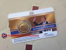 Coincard BU 2 Euro Commémorative Pays-Bas 2014 - Double Portrait 2