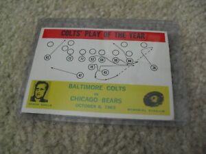 Vintage 1964 Philadelphia Football Colts POY Don Shula Card #14