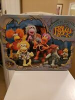 VINTAGE 1984 Fraggle Rock Metal Thermos Brand Lunchbox Jim Henson's Muppets