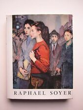 Rapahel Soyer Paintings & Drawings Inscribed & Signed w/ Drawing First Edition