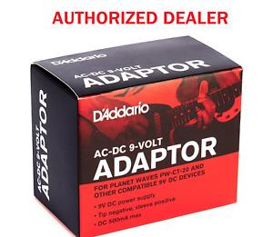 PW-CT-9V Regulated AC-DC 9V Adaptor Guitar Pedal Power Planet Waves D'Addario