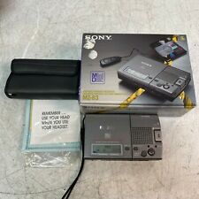 Sony Mz-B3 Vor Mini Disc Md Minidisc Digital Voice Recorder w/ Box and Manual