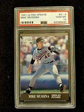 1991 Ultra Update Mike Mussina RC Rookie HOF #U-4 PSA 10 Yankees Orioles