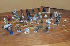 lot de 44 figurines en plomb STAR WARS  - EDITION ATLAS