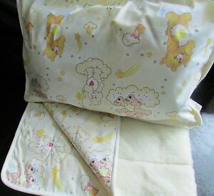 Baby Bed Set, 3Teilig, under Bed, Upper Pillow, 100% Wool Socks