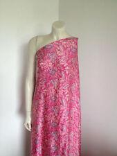 1 - 2 Metres Floral 100% Silk Craft Fabrics