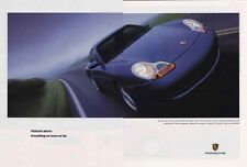 1998 PORSCHE 911 - 296 HP  ~  GREAT CLASSIC 2-PAGE AD