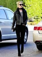 Rosie-Huntington-Whiteley-Black-Leather-Shearling-Jacket-For-Women
