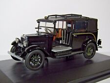 OXFORD DIECAST AUSTIN LOW LOADER TAXI BLACK 1/43 AT001