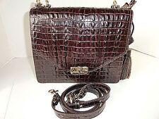 Brahmin Ophelia Espresso La Scala Leather Handbag NWT