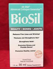 Natural Factors Biosil Hair Skin Nail 1 Oz 30 ml Liquid Collagen Generator