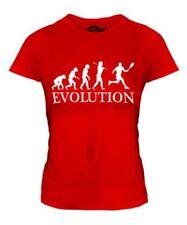 Tenis Evolution Of Man Mujer Camiseta Top Regalo Raqueta Ropa