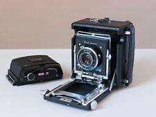 Busch Pressman C 6x7 Camera, 101mm Raptar, GRAFLOCK BACK & RB67 Roll Back!