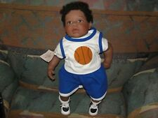 REVA SCHICK Lee Middleton Doll Boy AA African American I Wanna Play Basketball