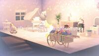 Starry Modern Piano Room Furniture Set 30+ pcs - New Horizons [Original Design]