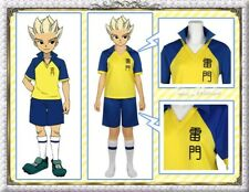 Inazuma Eleven Shuya Goenji Cosplay Costume Football Uniform Summer Custom Made