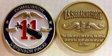 Submarine Squadron Eleven ComSubRon 11 SubRon USN From the Depths