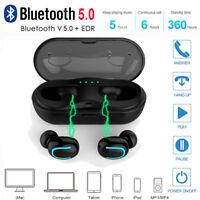 True Mini Bluetooth 5.0 Earphone TWS Wireless Earbuds Stereo HIFI In-Ear Headset