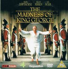 The Madness of King George the guardian PROMO DVD