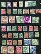 STAMP LOT OF MALTA, MNH, MH AND USED