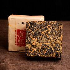 400 Years Ancient Old Tree Yunnan Dian Hong Golden Buds Brick Black Tea 250g