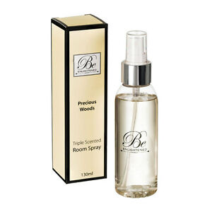 New Precious Woods Room Spray Deodoriser home fragrance 130ml by Be Enlightened