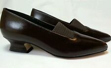 Leather California Magdesians Toby Brown Kid Shoes Made in USA Size 7 1/2 M