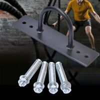 Durable Fitness Battle Rope Anchor Wall Mount Strength Yoga Swings Hammocks