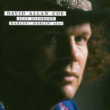 David Allan Coe - Just Divorced/Darlin' Darlin' Plus [New CD]
