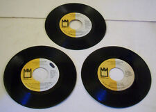 Silver Convention - 45RPM Single Vinyl Record LOT OF 3 Get Up And Boogie