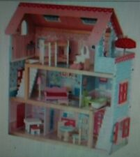 NEW IN BOX KidKraft Chelsea Wooden Dollhouse Pretend Play Cottage with Furniture