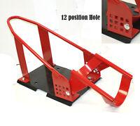"Motorcycle Cruiser Wheel Chock Nest Cradle Bike Hold Stand Adjustable 17""~21"""