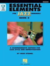Essential Elements for Jazz Ensemble Book 2 Bb Trumpet Instrumental 000877506