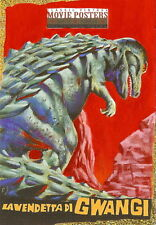 Sci-Fi Horror Movie Posters 2 Sketch Card from Richard Salvucci
