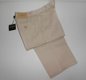 BURBERRY kids Boy 10 Years CWF.  Beige CHINOS / TROUSERS with tags - NEW RRP 73€