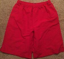 Lands End XL Red Bathing Suit Swim Shorts