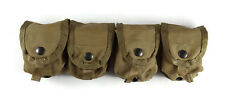 Lot of 4 Grenade Pouches, New Coyote Brown USMC, Surplus MOLLE Utility Pouch