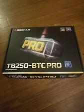 BIOSTAR TB250-BTC PRO LGA 1151 Intel B250 SATA 6Gb/s USB 3.0 ATX Intel